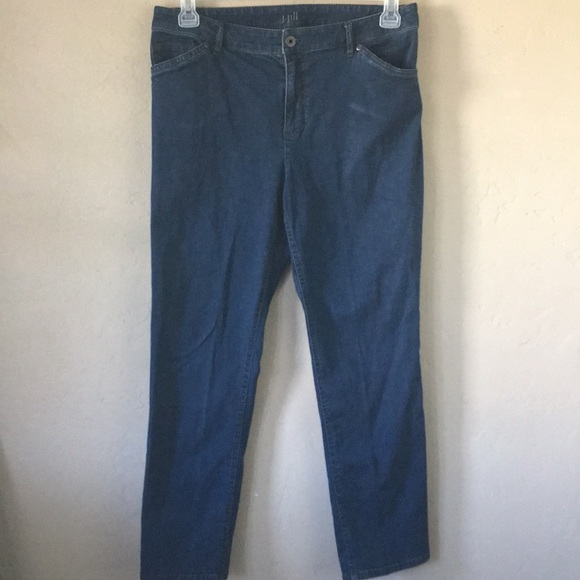 J. Jill Denim - J Jill Tried & True Fit Slim Ankle Stretch Sz 10
